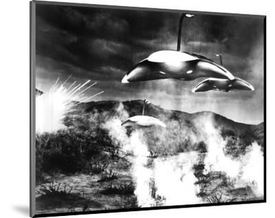 The War of the Worlds--Mounted Photo