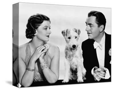 After the Thin Man--Stretched Canvas Print