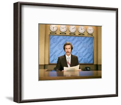 Anchorman: The Legend of Ron Burgundy--Framed Photo