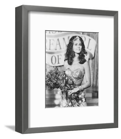 Wonder Woman--Framed Photo