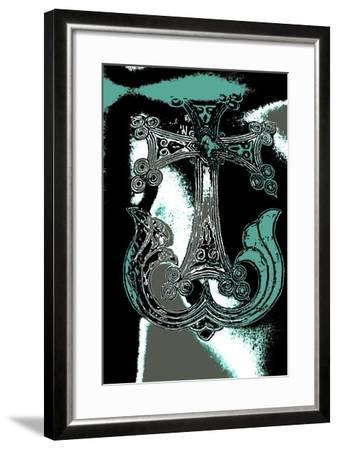 Ornamental Cross, from the Series, Church of the Holy Sepulchre, 2015-Joy Lions-Framed Giclee Print