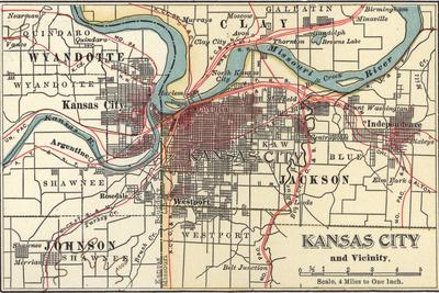 Map of Kansas City (C. 1900), Maps Giclee Print by Encyclopaedia Britannica Kansas City On World Map on ithaca on world map, san fransisco on world map, reno on world map, northern mariana islands on world map, saskatoon on world map, schenectady on world map, brownsville on world map, minneapolis on world map, manhattan on world map, norfolk on world map, ogallala on world map, lexington on world map, calgary alberta on world map, greensboro on world map, ks kansas map, santa clara on world map, all cities on world map, green bay on world map, st. louis on world map, bellevue on world map,