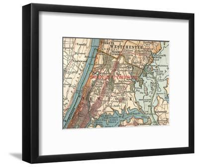 The Bronx (C. 1900)-Encyclopaedia Britannica-Framed Giclee Print