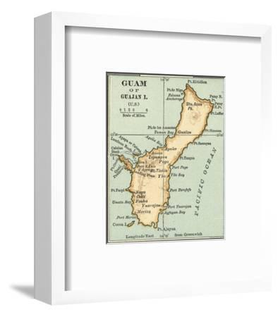 Inset Map of Guam or Guajan Island (Us) Giclee Print by Encyclopaedia on continents of us, region of us, geography of us, human features of us, culture of us, scale of us, longitude of us, climate of us, latitude of us, physical features of us, rural areas of us, globe of us, mountain range of us, river of us, elevation of us, symbol of us, compass rose of us,