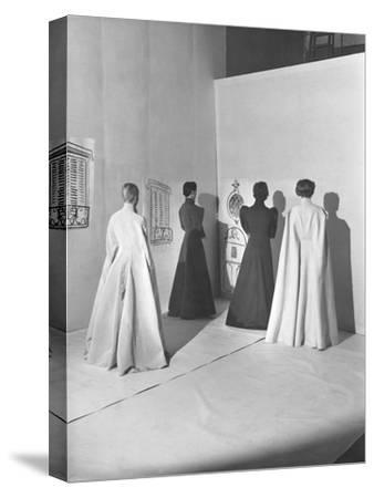 Vogue - November 1936-Cecil Beaton-Stretched Canvas Print