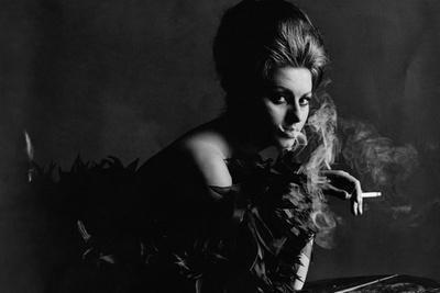 Vogue - November 1962 - Smoky Sophia-Bert Stern-Stretched Canvas Print