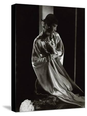 Vanity Fair - April 1931-Edward Steichen-Stretched Canvas Print