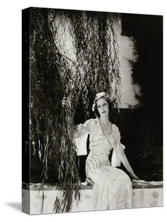 Vanity Fair - July 1933-Edward Steichen-Stretched Canvas Print