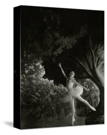 Vanity Fair - December 1935-Cecil Beaton-Stretched Canvas Print