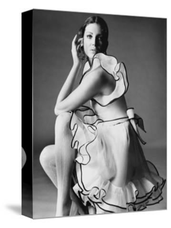 Vogue - June 1968-Bert Stern-Stretched Canvas Print