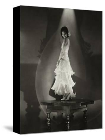 Vanity Fair - July 1930-Edward Steichen-Stretched Canvas Print