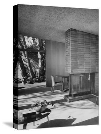 House & Garden - August 1949-Julius Shulman-Stretched Canvas Print