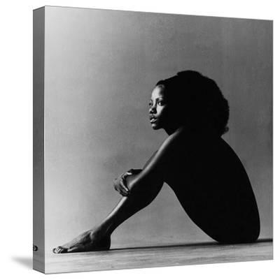 Vogue - October 1971 - Melba Moore, 1971-Jack Robinson-Stretched Canvas Print
