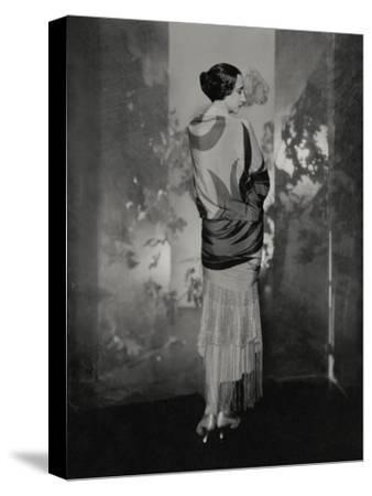 Vogue - December 1924-Edward Steichen-Stretched Canvas Print