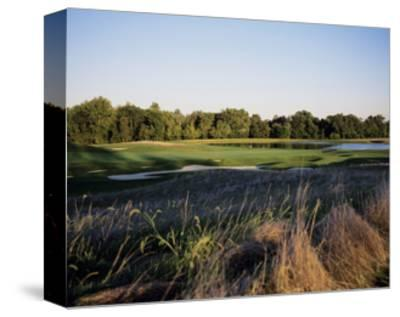 Bulle Rock Golf Course with lake-Stephen Szurlej-Stretched Canvas Print