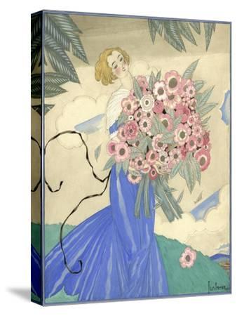 Vogue - June 1923-Georges Lepape-Stretched Canvas Print