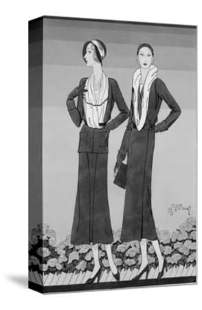 Vogue - April 1931-Douglas Pollard-Stretched Canvas Print