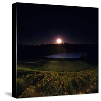 Montauk Downs Golf Course, Hole 7-Stephen Szurlej-Stretched Canvas Print