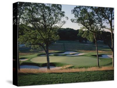 Bethpage State Park Black Course, Hole 17-Stephen Szurlej-Stretched Canvas Print