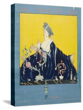Vogue - November 1916-Robert Kalloch-Stretched Canvas Print