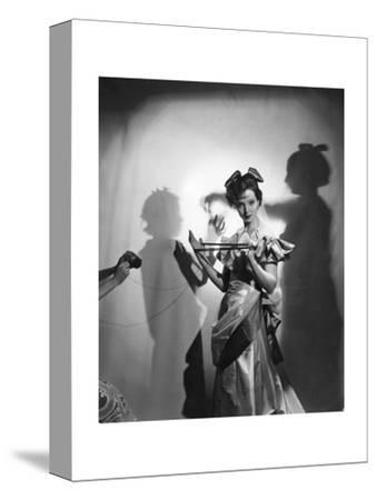 Vogue-Cecil Beaton-Stretched Canvas Print