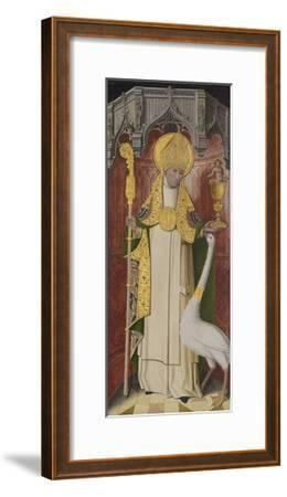 Altarpiece from Thuison-Les-Abbeville: Saint Hugh of Lincoln, 1490-1500--Framed Giclee Print