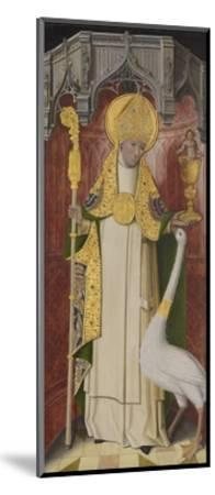Altarpiece from Thuison-Les-Abbeville: Saint Hugh of Lincoln, 1490-1500--Mounted Giclee Print