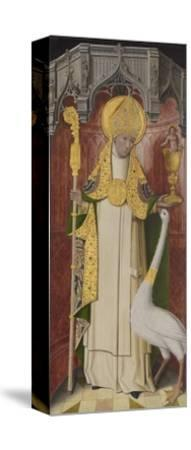 Altarpiece from Thuison-Les-Abbeville: Saint Hugh of Lincoln, 1490-1500--Stretched Canvas Print