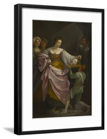 Salome with the Head of Saint John the Baptist, C.1639-42-Guido Reni-Framed Giclee Print
