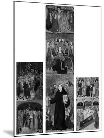 Retable of Saints Athanasius, Blaise, and Agatha, 1440-45- Master of Riglos-Mounted Giclee Print