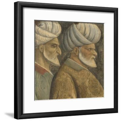 Sinan the Jew and Haireddin Barbarossa, C.1535--Framed Giclee Print