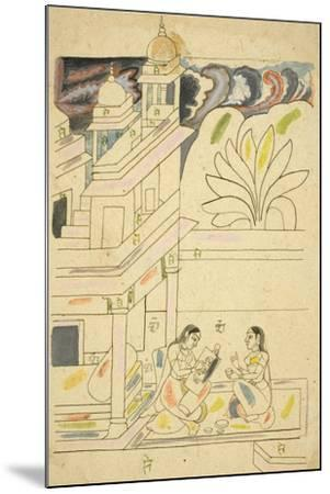 Dhanasri Ragini, 18th Century--Mounted Giclee Print