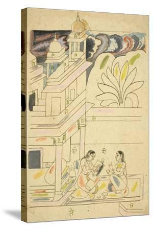 Dhanasri Ragini, 18th Century--Stretched Canvas Print