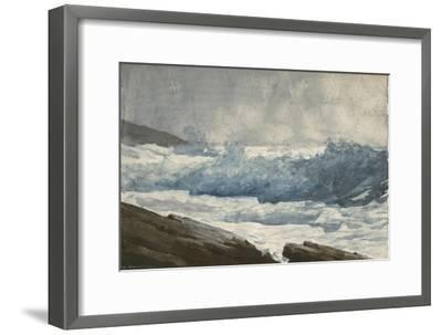 Prout's Neck, Breakers, 1883-Winslow Homer-Framed Giclee Print