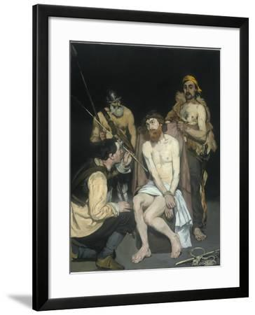 Jesus Mocked by the Soldiers, 1865-Edouard Manet-Framed Giclee Print