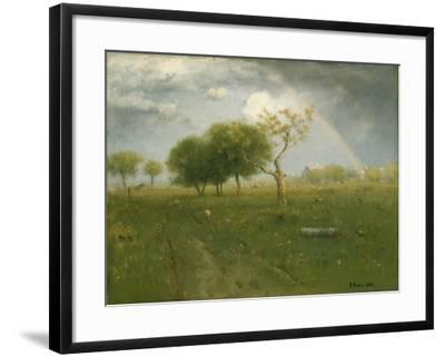 After a Summer Shower, 1894-George Inness Snr.-Framed Giclee Print
