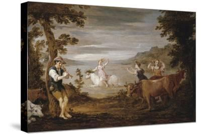 The Rape of Europa, 1654-56-David the Younger Teniers-Stretched Canvas Print
