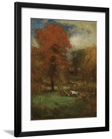 The Mill Pond, 1889-George Inness Snr.-Framed Giclee Print