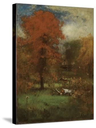The Mill Pond, 1889-George Inness Snr.-Stretched Canvas Print
