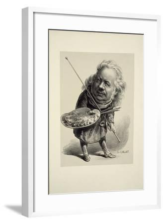 Portrait of Honoré Daumier, 1862-Etienne Carjat-Framed Giclee Print