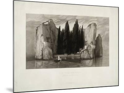 The Isle of the Dead, 1890-Max Klinger-Mounted Giclee Print