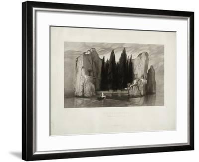 The Isle of the Dead, 1890-Max Klinger-Framed Giclee Print