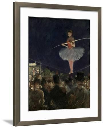 Tight-Rope Walker, C.1885-Jean Louis Forain-Framed Giclee Print