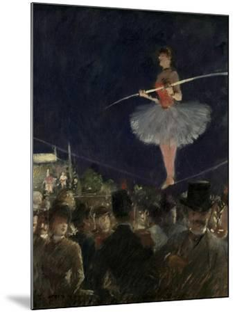 Tight-Rope Walker, C.1885-Jean Louis Forain-Mounted Giclee Print