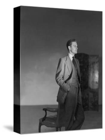 Vogue - August 1946-Horst P. Horst-Stretched Canvas Print