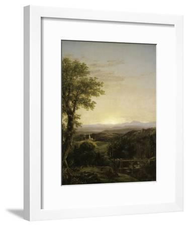 New England Scenery, 1839 Giclee Print by Thomas Cole | Art.com