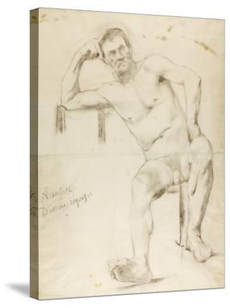 The Model Nizzavena, C. 1882-83-Henri de Toulouse-Lautrec-Stretched Canvas Print