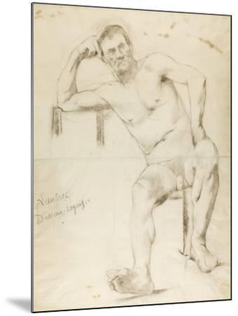 The Model Nizzavena, C. 1882-83-Henri de Toulouse-Lautrec-Mounted Giclee Print