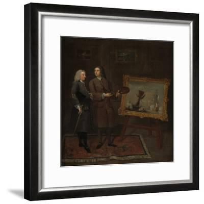 Thomas Walker and Peter Monamy, C.1735-Gawen Hamilton-Framed Giclee Print