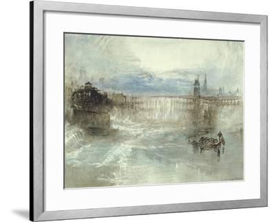 View of Lucerne, 1840-41-J^ M^ W^ Turner-Framed Giclee Print